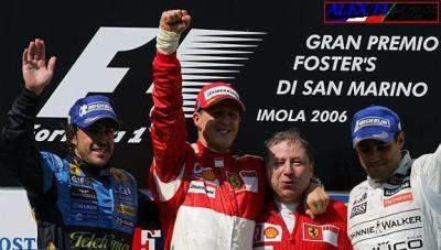 Schumacher et Ferrari triomphent à Imola