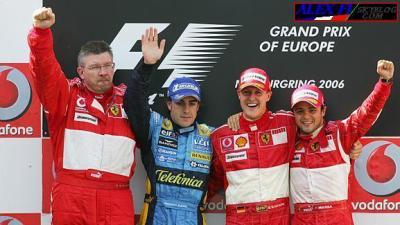 Victoire stratégique de Michael Schumacher