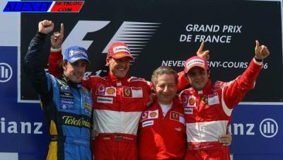 Victoire de Michael Schumacher