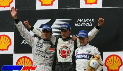 Première victoire de Jenson Button !