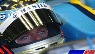 Kovalainen et Briatore chez Renault en 07