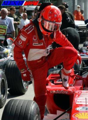 Victoire de Michael Schumacher à Monza