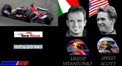 9.Toro Rosso Cosworth