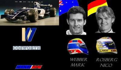 8.Williams Cosworth