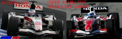 Honda saison 2006--> Super Aguri test hivernaux 2006-07