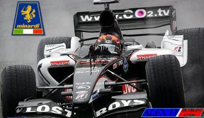 Minardi ça fait un an !