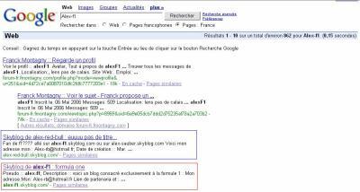 Google: Alex-f1
