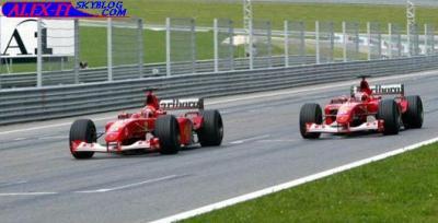 Schumacher n'était pas le numéro 1 ?