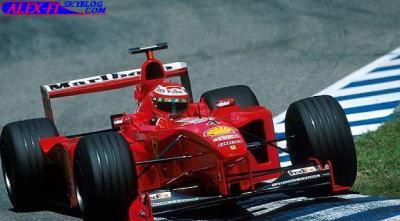 Jeux vidéo: F1 1999 France (20 tous par course)