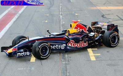 La nouvelle Red-bull 2007
