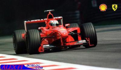 Jeux vidéo: F1 1999 Grande-Bretagne (20 tous par course)