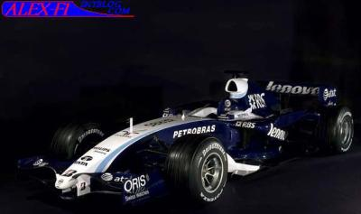 La nouvelle Williams Toyota 2007.