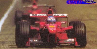 Jeux vidéo: F1 1999 Hongrie (20 tous par course)