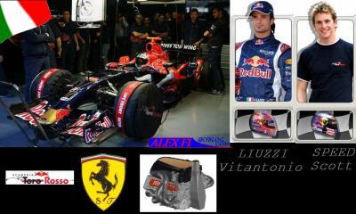 9.Toro Rosso Ferrari