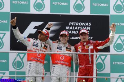 Résulats du Grand Prix de Malaisie