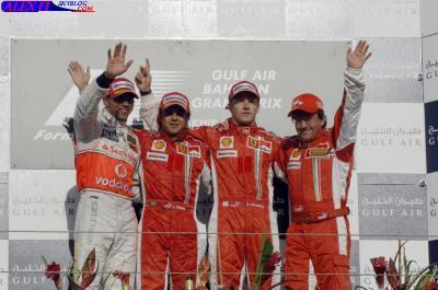 Résulats du Grand Prix de Bahreïn