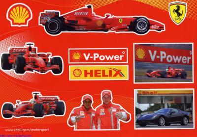 Stikers Ferrari