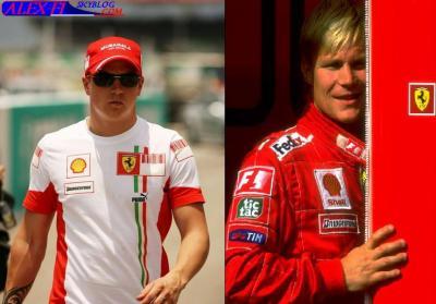 Kimi Raikkonen & Mika Salo