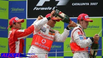Résulats du Grand Prix d'Espagne