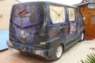 une petite remise en etat sur mon van trafic refaire carrosserie aero la vie du custom. Black Bedroom Furniture Sets. Home Design Ideas