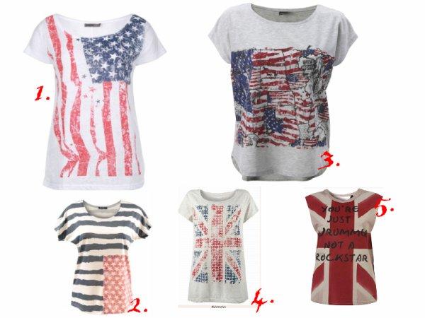 T-Shirt anglais.