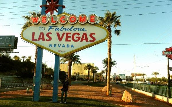 Me in Las Vegas !!!