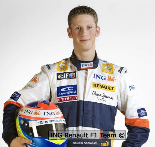 Débur de saison F1