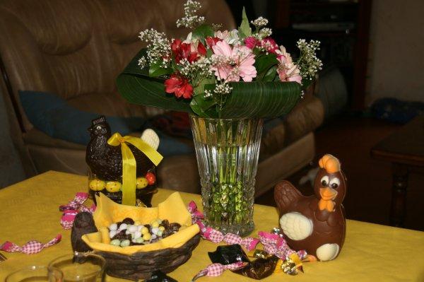 Notre table de Pâques