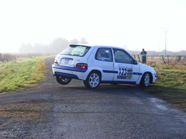 Première règle pour un pilote de rallye...........