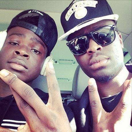 Dadju et son frère