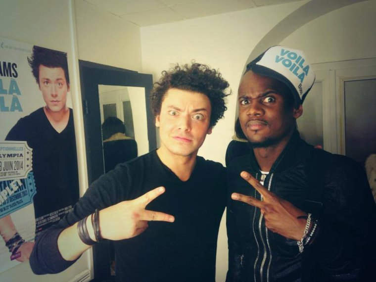 Hier Black M était au spectacle de Kev Adams