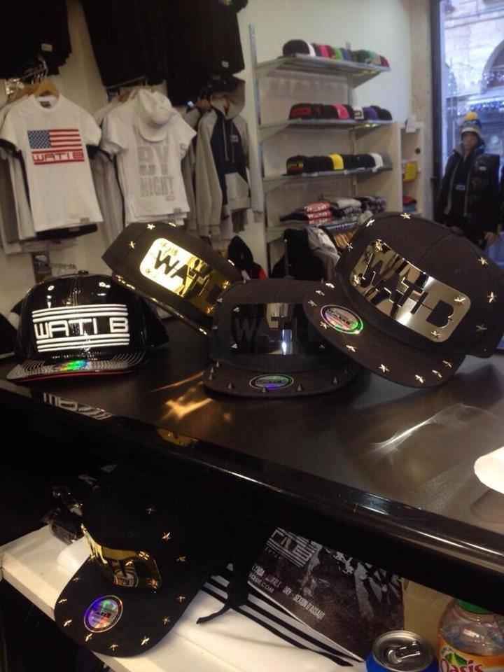 Des nouvelles casquettes éditions limitées sont disponibles à la Wati-Boutique !