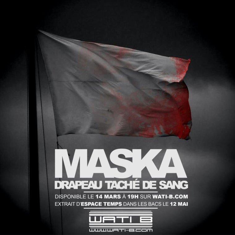 "MASKA ""drapeau tache de sang"" le 14 mars"