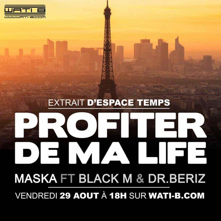 """nouveau extrait d'espace temps """" profiter de ma life """" vendredi 29 aout a 18h"""