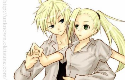 Voici mes deux couples préféré avec Ino <3