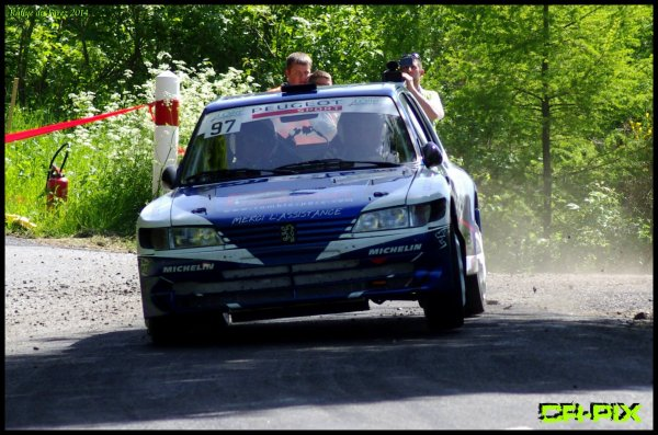 Rallye du Forez 6 et 7 Mai 2014