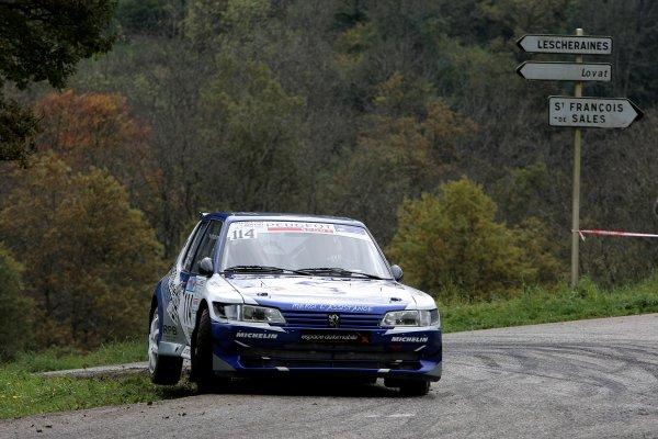 Rallye des Bauges le 11 et 12 Octobre 2014