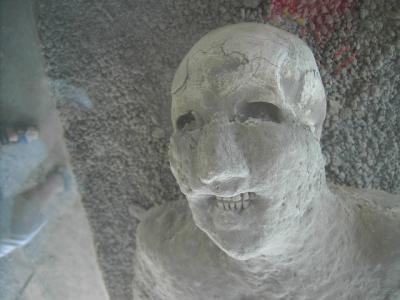 Visite des ruines de Pompéi