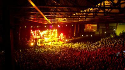 """concert des """"smaching pumpkins """" à Colmar (Alsace)"""