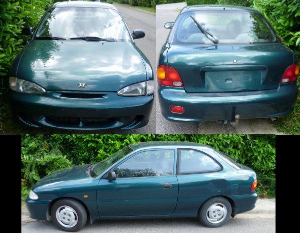 Ma nouvelle cars =>> Greeny ( c'est son petit surnom )