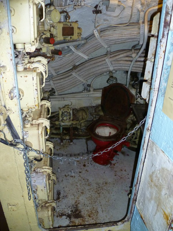 Intérieur du sous marin