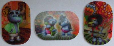 Série : 03  HOLOGRAMME HIPPO TALENT