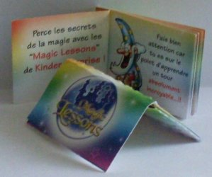 Série : 01  JEU DE CARTE MAGIC LESSONS