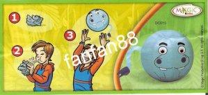 Série : NATOONS - BALON A GONFLER