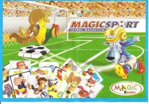 Série : 05MAGIC SPORT   (Fanset clac clac-2 doigts- maillot-jeu de carte)