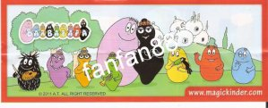 Série : 09	BARBAPAPA  ( France) (BPZ NEUTRE)