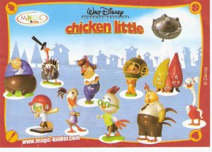 Série : 11	CHICKEN LITTLE  (Figurine)