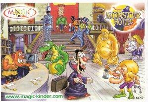 Série : 09MONSTER HOTEL (Figurine)