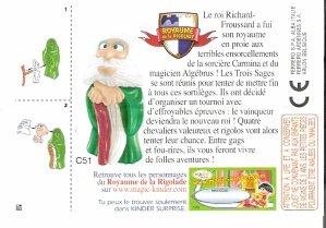 "Série : 04ROYAUME DE LA RIGOLADE ""SAGE & DRAGON"""