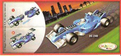 Série :  08  VOITURES FORMULE 1  (deux série de 4 voitures)